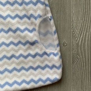 Just Born Pajamas - NWOT Just Born Blue MicroFleece Wear-a-Blanket